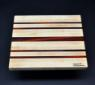 Cutting Board 10 x 12 Maple with Padauk accents image 2