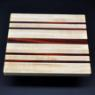 Cutting Board 10 x 12 Maple with Padauk accents image 3