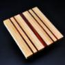 Cutting Board 10 x 12 Maple with Padauk accents image 4