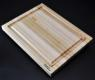 Maple Cutting Board 12x16x1.25 with juice groove image 1